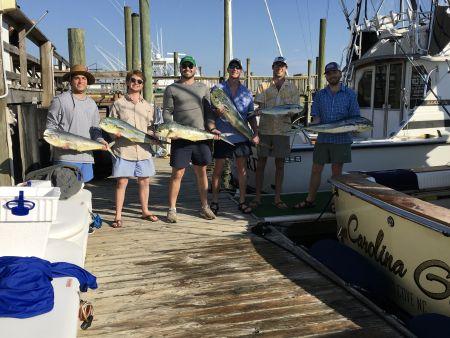 Carolina Girl Sportfishing Charters Outer Banks, Mahi on the Menu