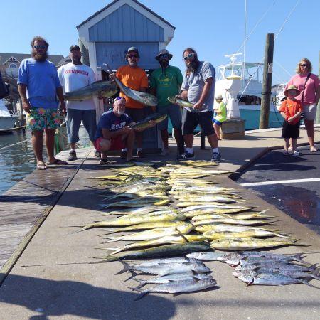 Tuna Duck Sportfishing, Mahi and Spanish Mackerel