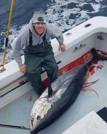 Oceans East Bait & Tackle Nags Head, Bluefin Biting Out of Oregon Inlet