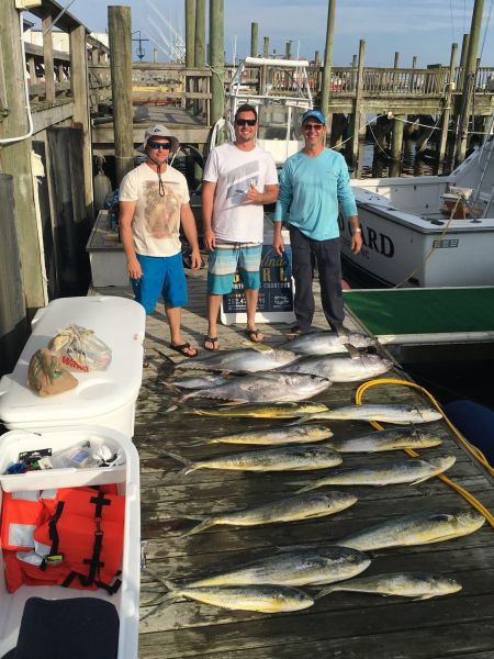 Carolina Girl Sportfishing Charters Outer Banks, Pretty Weather & Great Fishing Continues