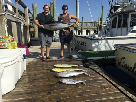 Carolina Girl Sportfishing Charters Outer Banks, 100 lb Yellowfin Tuna