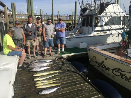 Carolina Girl Sportfishing Charters Outer Banks, Fishing Report