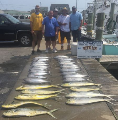 Bite Me Sportfishing Charters, Batchelor Party