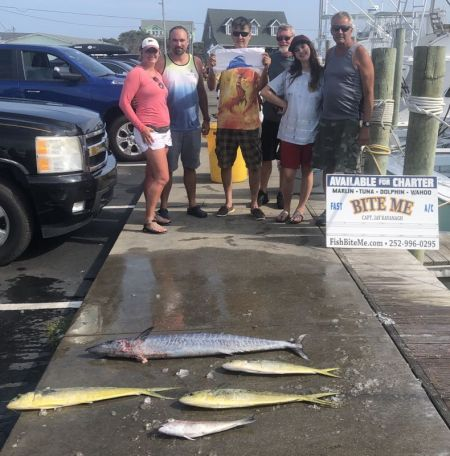 Bite Me Sportfishing Charters, Make Up Trip