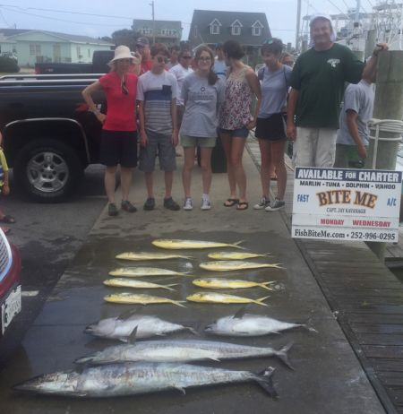 Bite Me Sportfishing Charters, Great to be back!