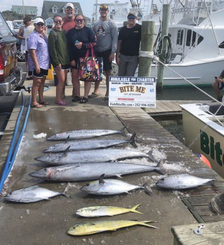 Bite Me Sportfishing Charters, Mixed Grill!