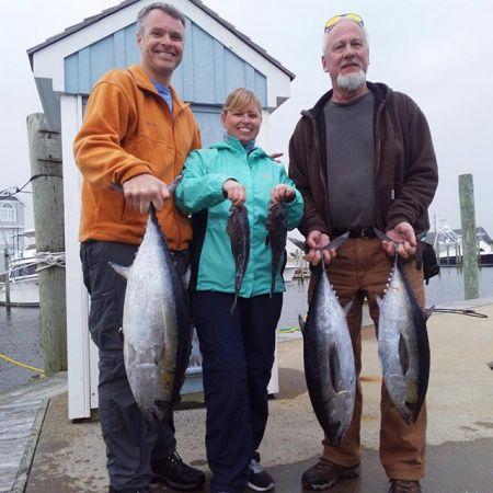 Tuna Duck Sportfishing, Tuna and Sea Bass