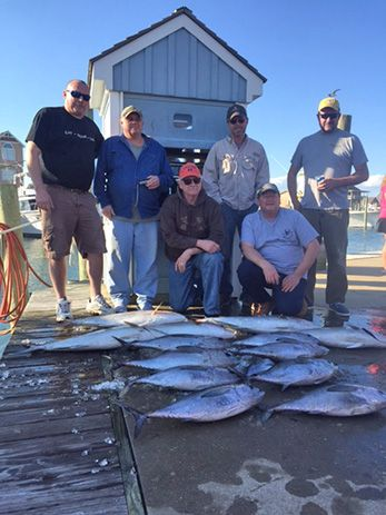 Tuna Duck Sportfishing, Blackfin Tuna and Amberjacks