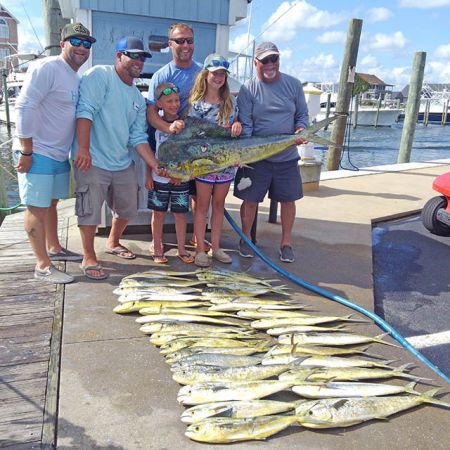 Tuna Duck Sportfishing, Aliya Bests Dolphin