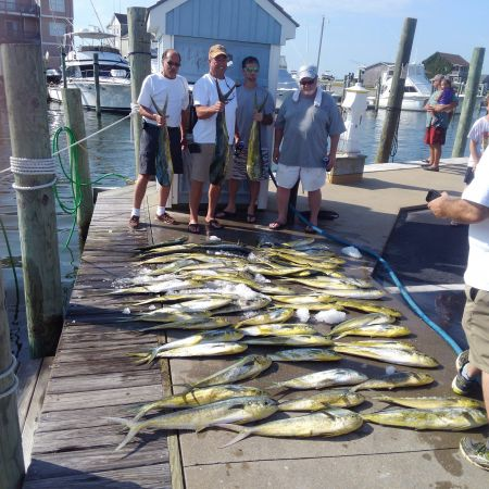 Tuna Duck Sportfishing, Mahi