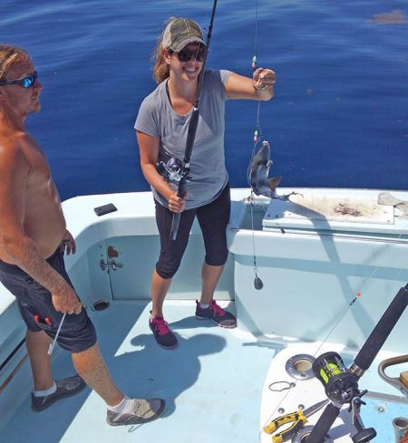 Tuna Duck Sportfishing, Offshore Like Glass Today