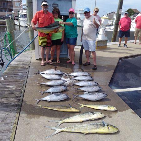 Tuna Duck Sportfishing, Good Day on the Gulfstream