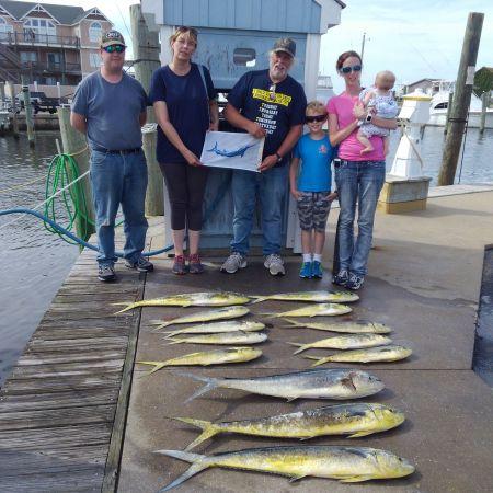 Tuna Duck Sportfishing, Fun Holiday Crew