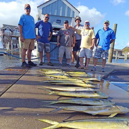 Tuna Duck Sportfishing, Nice Mahi Today