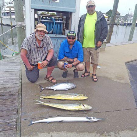Tuna Duck Sportfishing, Weather Shortens Trip