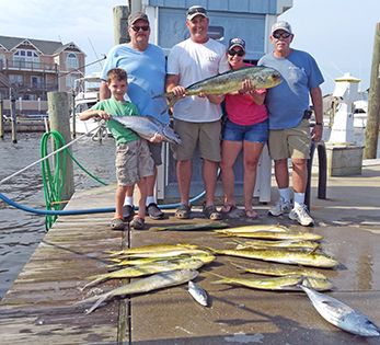 Tuna Duck Sportfishing, Family Fun