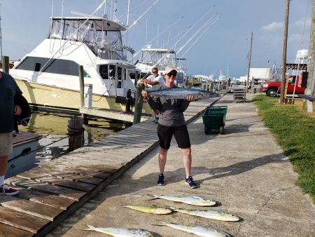 Fishin' Fannatic, Finally Back Fishing Here in the Outer Banks