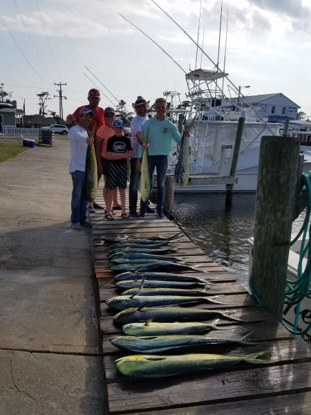 Fishin' Fannatic, Mahi Madness on the Outer Banks