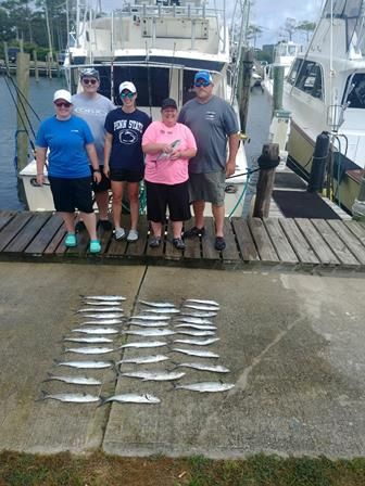 Fishin' Fannatic, Great Family Fishing Nearshore with us today