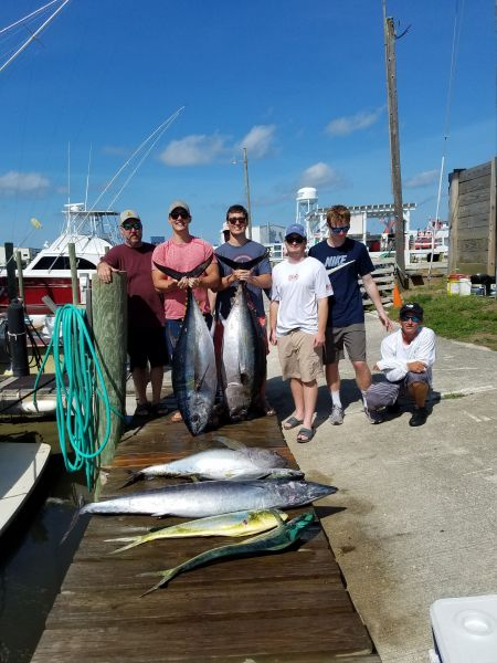 Fishin' Fannatic, Great Tuna Fishing Here on the Outer Banks