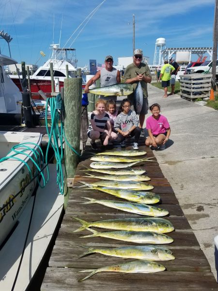 Fishin' Fannatic, Another Great Day Offshore Here on the Outer Banks