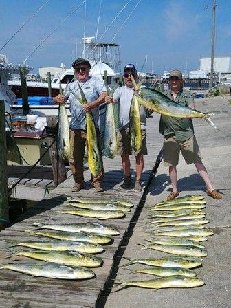 Fishin' Fannatic, Mahi Fishing on the Outer Banks