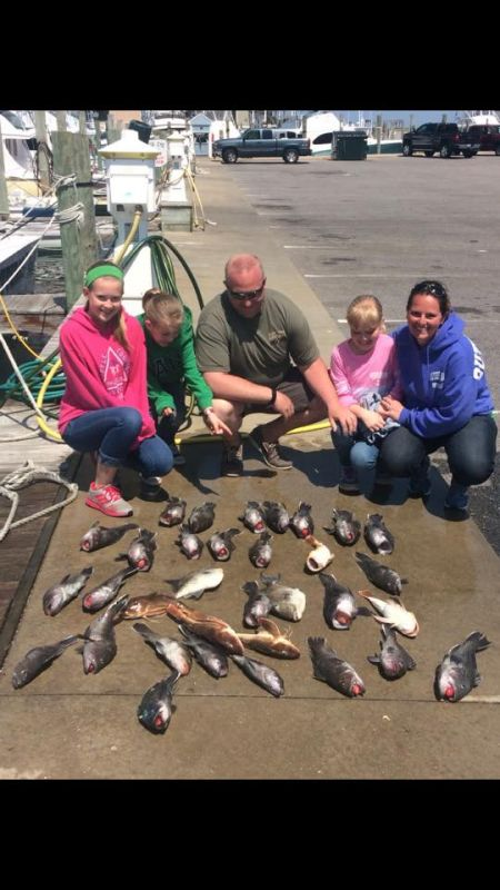 Reliance Hatteras Fishing Charters, Half Day Haul