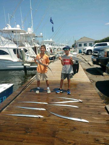 Pirate's Cove Marina, Thursday's Catch