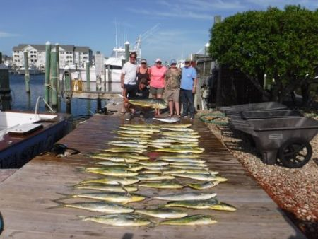 Pirate's Cove Marina, Holy Mahi!