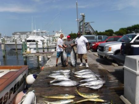 Pirate's Cove Marina, BLUE MARLIN and Meatfish!