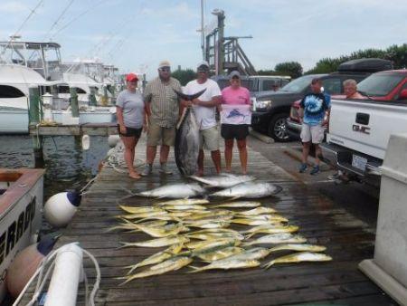 Pirate's Cove Marina, Bigeyes and Blue Marlin!