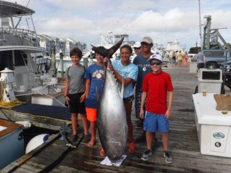 Pirate's Cove Marina, White Marlin and Bigeye!