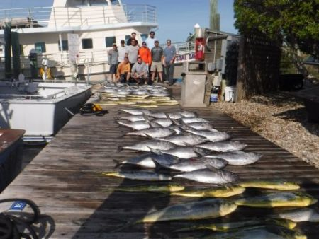 Pirate's Cove Marina, Another Great Fishing Day!