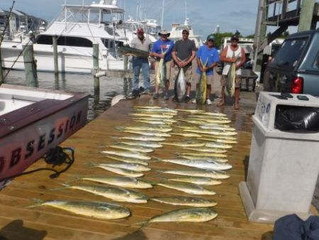 Pirate's Cove Marina, Bigeye Yellowfin Mahi and Blue Marlin