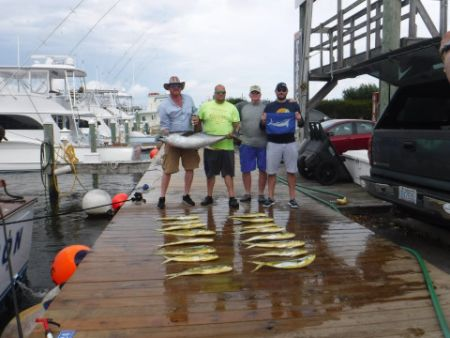 Pirate's Cove Marina, Don't let a little rain ruin your fishing...