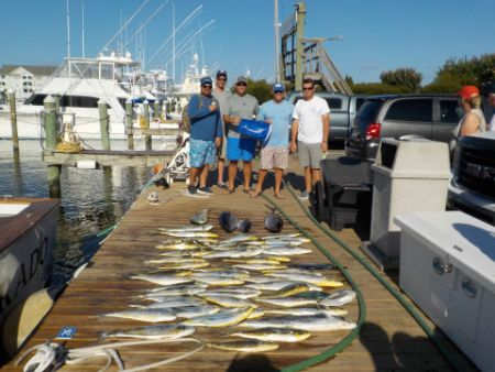 Pirate's Cove Marina, Fishing is back in Action Baby.!.!