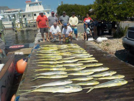 Pirate's Cove Marina, Catch of the Day!