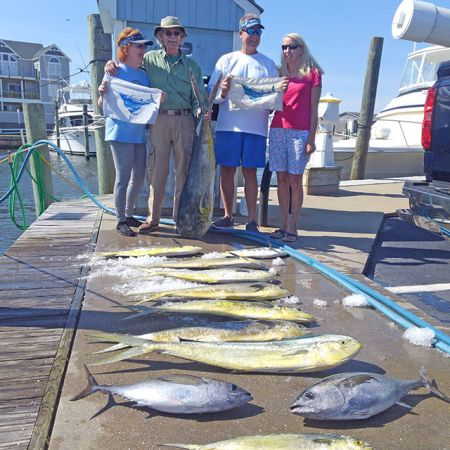 Tuna Duck Sportfishing, Sporty Day on the Rip