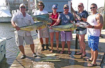 Tuna Duck Sportfishing, Gaffer Dolphin