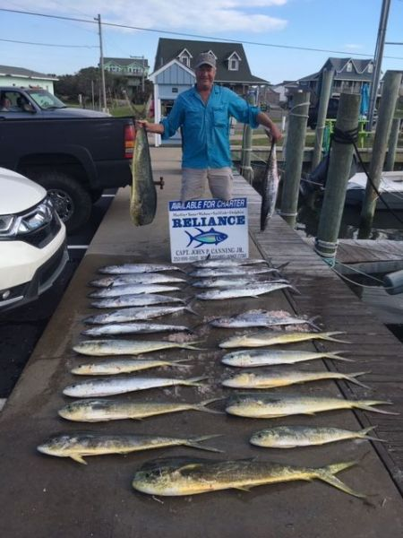 Reliance Hatteras Fishing Charters, RELIANCE OFFSHORE REPORT 4/22