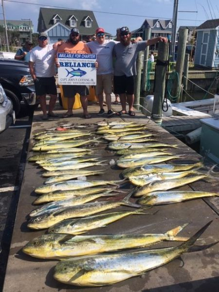 Reliance Hatteras Fishing Charters, Reliance offshore report