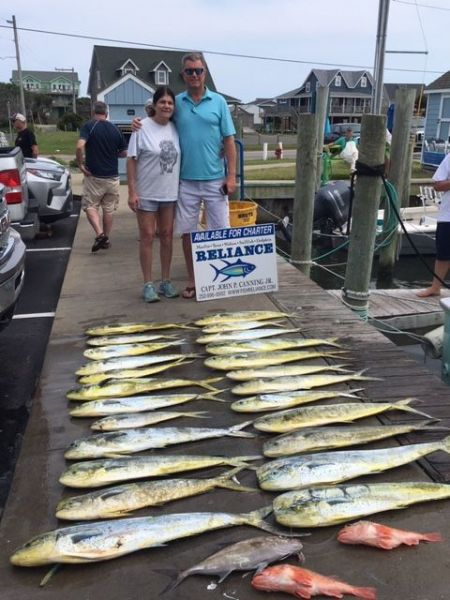Reliance Hatteras Fishing Charters, Reliance gulfstream report