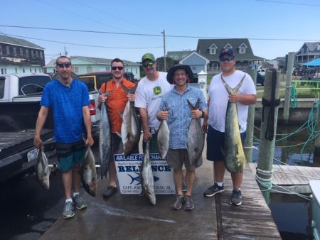 Reliance Hatteras Fishing Charters, Hatteras offshore