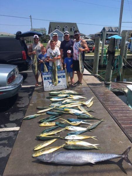 Reliance Hatteras Fishing Charters, Hatteras Mahi!