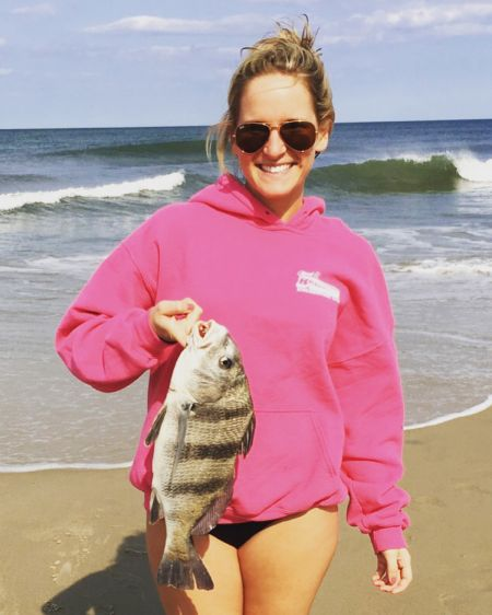 OBX Bait and Tackle Corolla Outer Banks, Striper Landed in Corolla!!!!