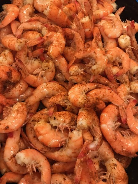 Grandpa's Charters, Catch your own Shrimp for Dinner!