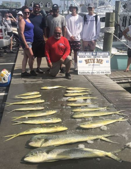 Bite Me Sportfishing Charters, Adam and friends