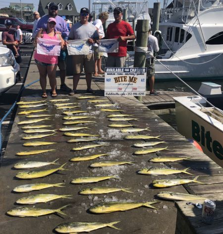 Bite Me Sportfishing Charters, Triple Header!
