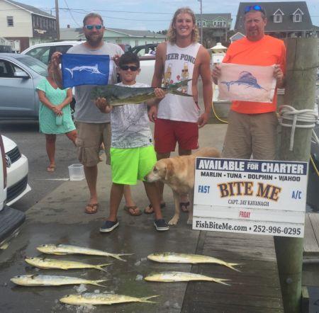Bite Me Sportfishing Charters, Pretty Day!