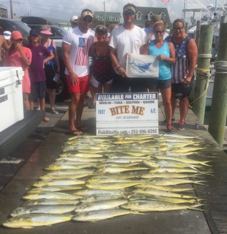 Bite Me Sportfishing Charters, Happy Independence Day!